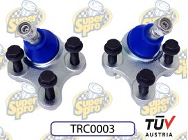 SuperPro Roll Centre Adjusting Ball Joint Nr. TRC0003 for Volkswagen Golf MK5 2WD Versions Typ1K1FWD 03-09