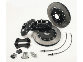 Mazda RX-8 K-sport Big Brake Kit Front and Rear Black
