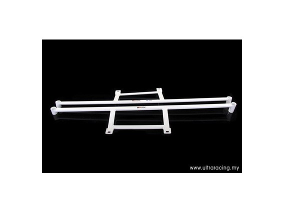 Mitsubishi EVO 4/5/6 Ultra-R 2x 4-Point Floor Bars