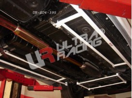 Mitsubishi EVO 7/8/9 UltraRacing 2x 4-Point Side/Floor Bars